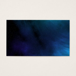 Starry Space Scene Business Card