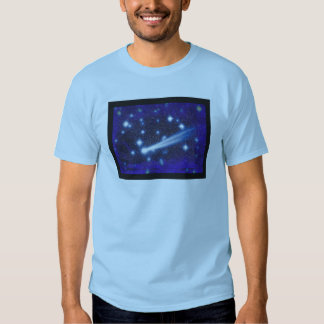 Starry Space Sky & Asteroid Shirt