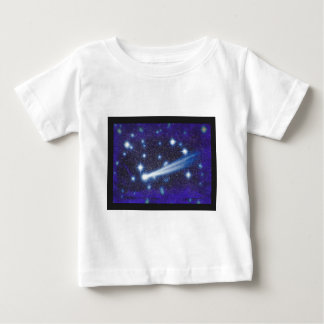 Starry Space Sky & Asteroid T Shirt