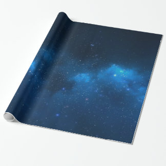 STARRY SPACE GIFT WRAP PAPER