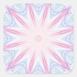 Starry Spiderweb Square Sticker