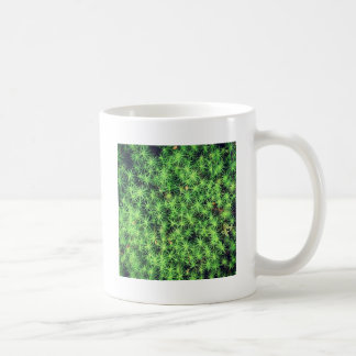 Starry starry moss classic white coffee mug