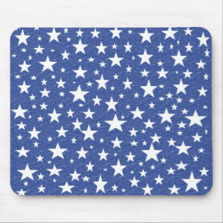 Starry Starry Night Blue Mousepad