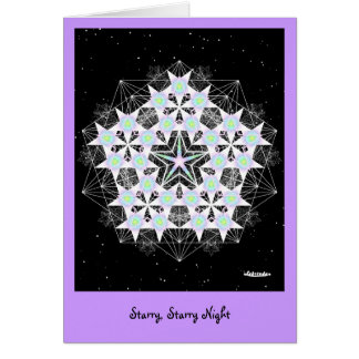 Starry, Starry Night Greeting Card