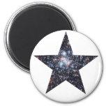 Starry Stars 2 Inch Round Magnet