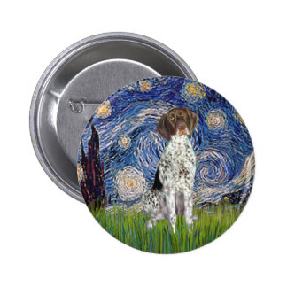 Starry State - German Short Haired Pointer Pins