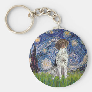 Starry State - German Short Haired Pointer Key Chains