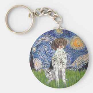Starry State - German Short Haired Pointer Key Chain