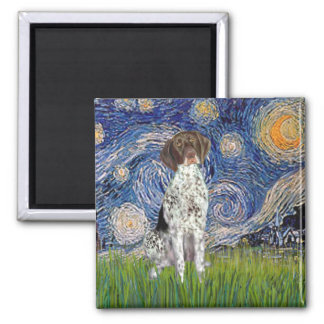 Starry State - German Short Haired Pointer Magnet