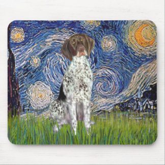 Starry State - German Short Haired Pointer Mouse Pad