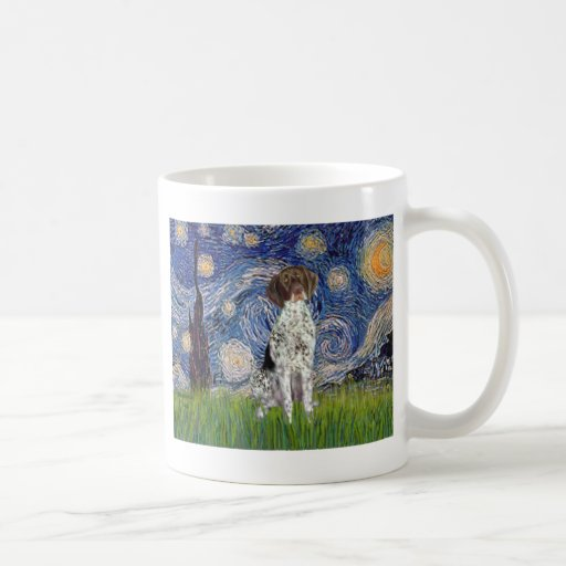 Starry State - German Short Haired Pointer Classic White Coffee Mug
