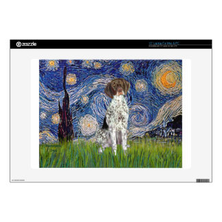 """Starry State - German Short Haired Pointer Decal For 15"""" Laptop"""