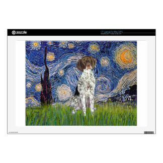 Starry State - German Short Haired Pointer Skin For Laptop