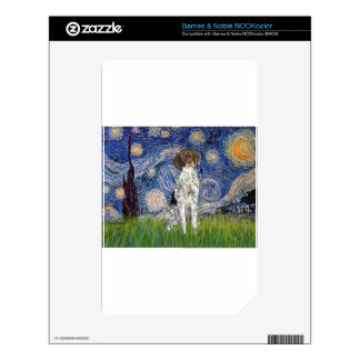 Starry State - German Short Haired Pointer Skins For The NOOK Color