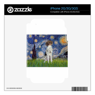 Starry State - German Short Haired Pointer iPhone 3 Decal