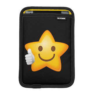 Starry Thumbs Up Emoji iPad Mini Sleeve