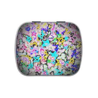Starry  'Tookii Art' Jelly Belly Tin