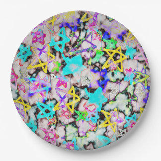 Starry  'Tookii Art' Paper Plate