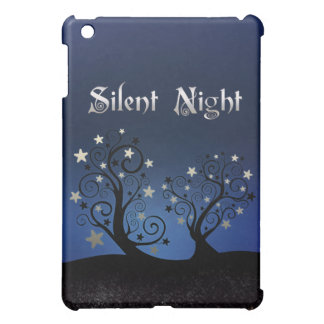 Starry Trees Silent Night Cover For The iPad Mini