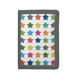 Starry Trifold Wallet