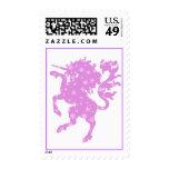 Starry Unicorn Stamps