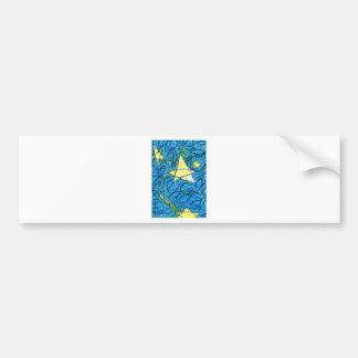 Starry Vibrato Bumper Sticker
