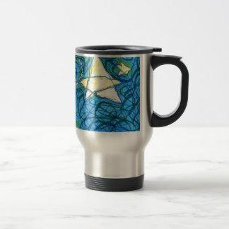 Starry Vibrato 15 Oz Stainless Steel Travel Mug