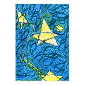 Starry Vibrato Postcard