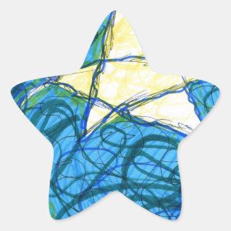 Starry Vibrato Star Sticker