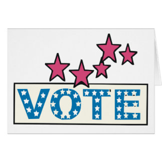 Starry Vote Card