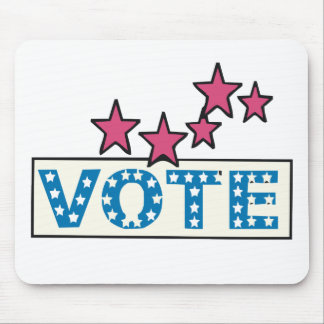 Starry Vote Mouse Pad
