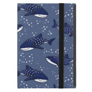 Starry Whale Shark (Dark) Cover For iPad Mini