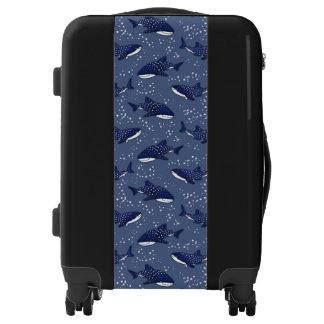 Starry Whale Shark (Dark) Luggage