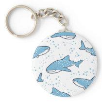 Starry Whale Shark (Light) Keychain