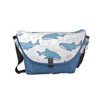 Starry Whale Shark (Light) Small Messenger Bag