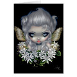 """Starry Wild Jasmine Fairy"" Greeting Card"