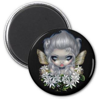 """Starry Wild Jasmine Fairy"" Magnet"