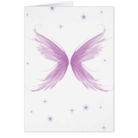 Starry Wings Card