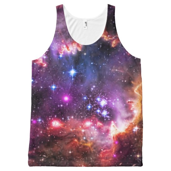 Starry Wingtip of Small Magellanic Cloud All-Over-Print Tank Top