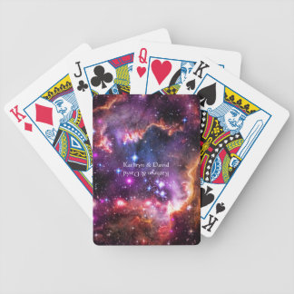 Starry Wingtip of Small Magellanic Cloud Bicycle Playing Cards