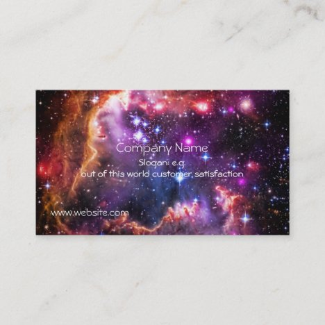 Starry Wingtip of Small Magellanic Cloud Business Card