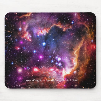 Starry Wingtip of Small Magellanic Cloud Mouse Pad