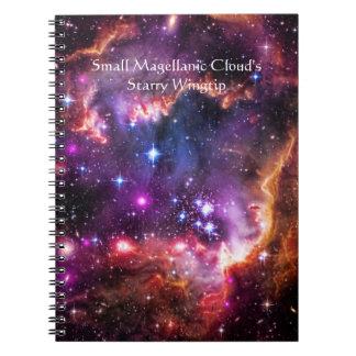 Starry Wingtip of Small Magellanic Cloud Notebook