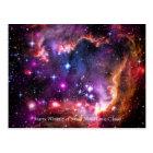 Starry Wingtip of Small Magellanic Cloud Postcard