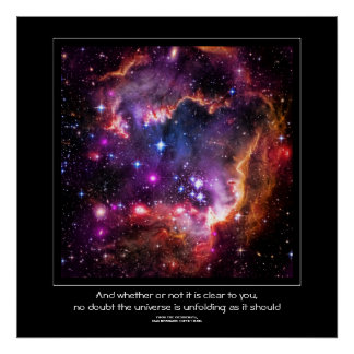 Starry Wingtip of Small Magellanic Cloud Print
