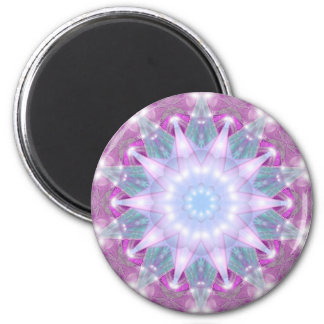 Starry Winter 2 Inch Round Magnet