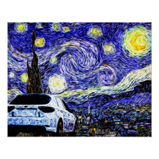 Starry WRX Poster