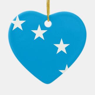 Starryplough, bandera de Irlanda Adorno De Cerámica En Forma De Corazón