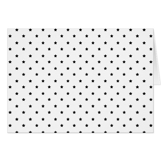 stars09  BLACK WHITE STAR PATTERN BACKGROUNDS WALL Card