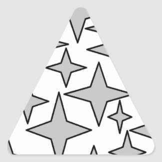stars3.jpg triangle sticker